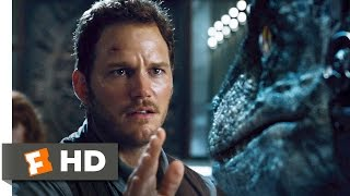 Jurassic World (2015) - Raptors vs. Indominus Scene (8/10) | Movieclips