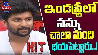 Hero Nani shares about HIT movie success..