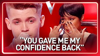 INSECURE 19-Year-Old boy quits his job and becomes a real SUPER STAR in The Voice | Journey #59