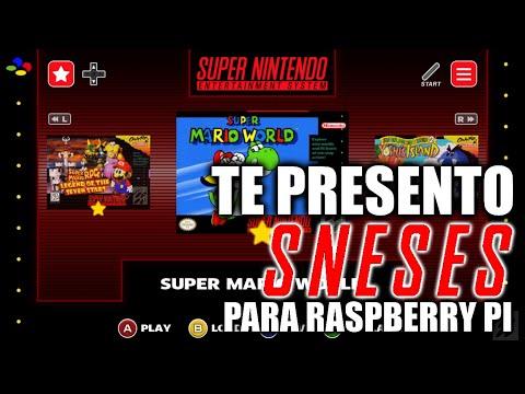 ¿Conoces SNESES? Super Nintendo Frontend para la Raspberry PI