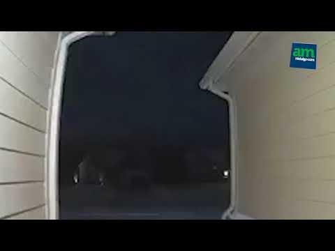 Meteoro impacta en Detroit