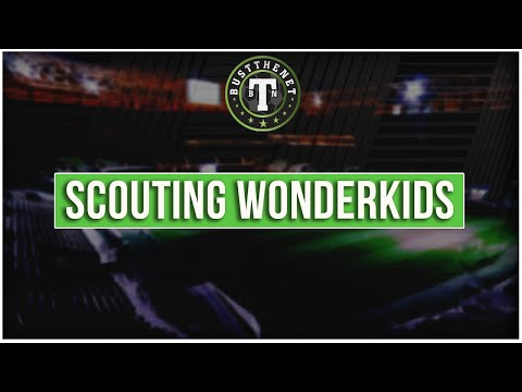 Scouting Wonderkids on Football Manager