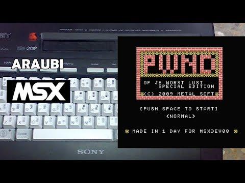 PWND (Metal Soft, 2008) MSX [360] Walkthrough