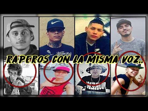 Raperos con la misma voz | Canserbero | YUSAK | Adan zapata & mas | MUSICRAPHOOD