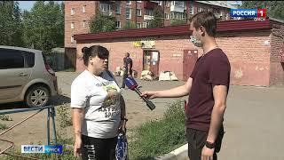 Жители Нефтяников жалуются на пункт приема вторсырья