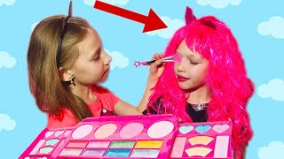 Eva Pretend Play Dress Up and New Make Up Toys