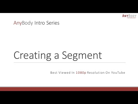 Creating a Segment (Intro 5/9)