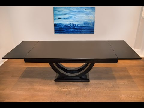 Union Pedestal Dining Table - Anne Quinn Solid Wood Furniture