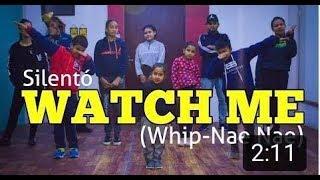 Silentó - Watch Me (Whip/Nae Nae) Ft. Divanshi & Group