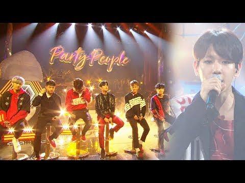 EXO, 최초 공개 한정판 무대 '부메랑' @박진영의 파티피플 10회 20170930