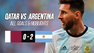 Qatar vs Argentina HIGHLIGHTS - Copa America Football 2019