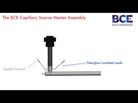 BCE Capillary Source Heater Assembly