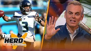Colin Cowherd on why Russell Wilson should be MVP, OBJ's trade requests | NFL | THE HERD