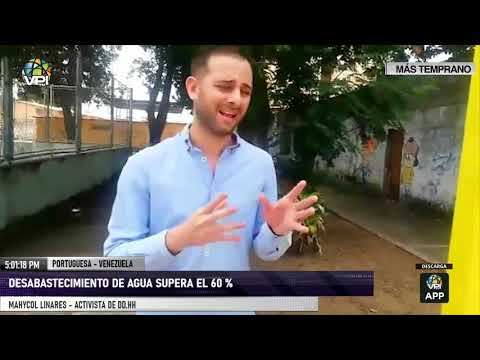Portuguesa - Desabastecimiento de agua supera el 60% - VPItv