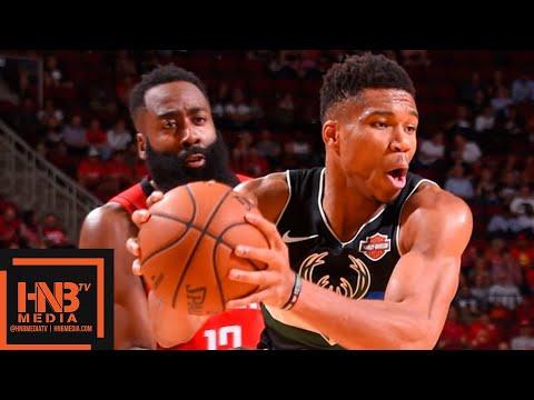 Houston Rockets vs Milwaukee Bucks - 1st Half Highlights | October 24, 2019-20 NBA Season