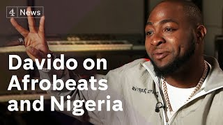 Davido on Afrobeats and a future career in Nigerian politics