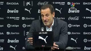 Rueda de prensa Valencia CF vs Real Valladolid CF