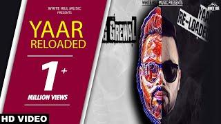 Yaar Reloaded – Teg Grewa Punjabi Video Download New Video HD