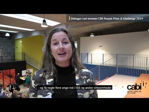 Camilla fra ISS om socialt ansvar