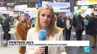 France's biggest tech conference Vivatech kicks off in Paris