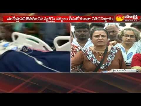 Madhulika Case: POW Sandhya Fires on Police