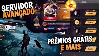 NOVO EVENTO COM PRÊMIOS GRÁTIS, HAYATO E MAIS, SERVIDOR AVANÇADO E LOJA MISTERIOSA 8.0 FREE FIRE