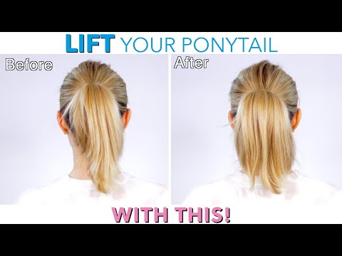 LIFT Your Ponytail with THIS!