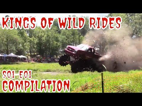 KINGS OF WILD RIDES - MUDDING 5 YEAR COMPILATION - VOL 01