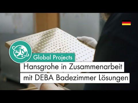 Hansgrohe in Zusammenarbeit mit DEBA Badezimmer Lösungen