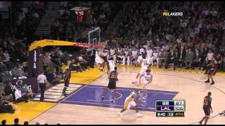 12 28 2008   Warriors vs  Lakers   2nd Half Highlights