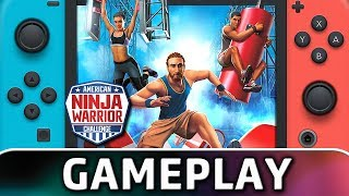American Ninja Warrior Challenge | First 8 Minutes on Switch