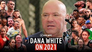 """If I could make one fight in 2021, it's that!"" Dana White talks 2021 plans, Jon Jones and Khabib"