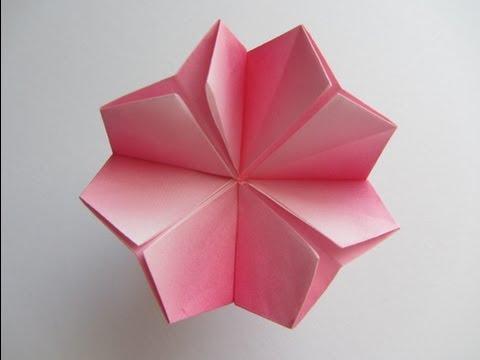 Origami Cherry Blossom - YouTube - photo#6