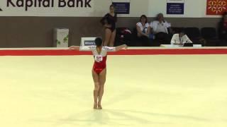 Diana Bulimar (ROU) - Floor - 2015 European Championships (Quals)