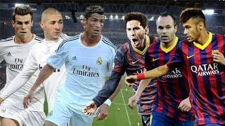 El Clasico • Most Heated Moments and Best Goals Ever (Fights, Goals, Fouls) ||HD||