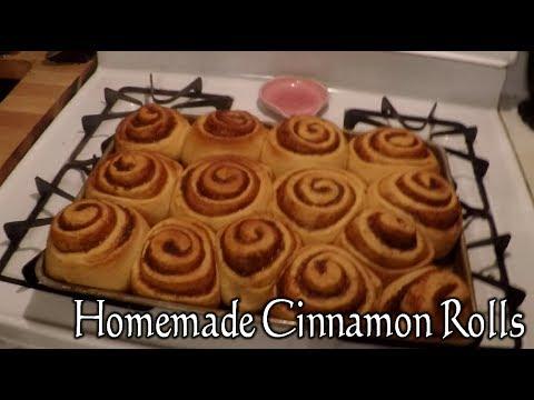 Homemade Cinnamon Rolls!