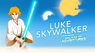 Luke Skywalker - The Journey Begins | Star Wars Galaxy of Adventures
