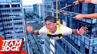 Don't Plummet to the Ground! | Rope Cut Challenge!