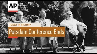 WWII: Potsdam Conference Ends - 1945   Today In History   2 Aug 18