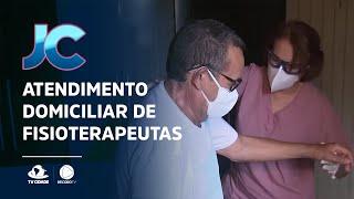 Equipe de profissionais do hospital São José, aqui em Fortaleza, faz esse atendimento domiciliar