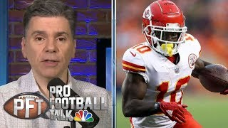 Tyreek Hill reportedly being investigated in battery case   Pro Football Talk   NBC Sports