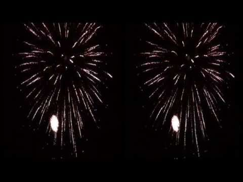 3D Fireworks At Liberty Lake, Washington by Full Volume 3D Productions