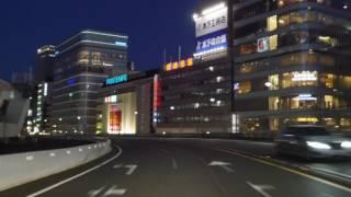 Tokyo night drive 4K 2016 首都高