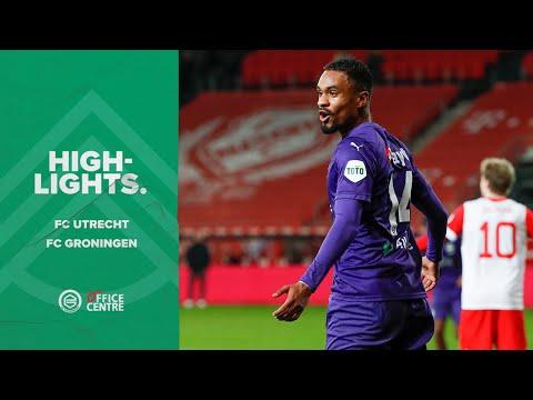 Highlights FC Utrecht - FC Groningen
