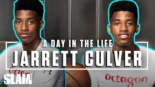 Jarrett Culver: From SLEPT ON RECRUIT to LOTTERY PICK 📈 | SLAM Day in the Life
