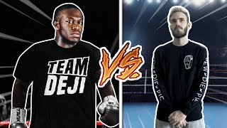 CHALLENGING PEWDIEPIE TO A BOXING MATCH