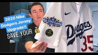 NIKE DODGERS JERSEY UPGRADE! SAVE YOUR MONEY DIY PATCH KIT!! 2020 MLB