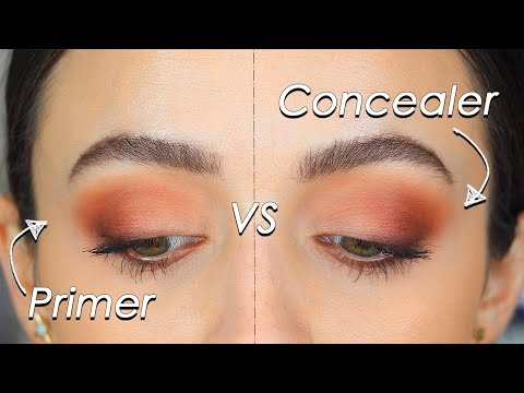 "DOES EYESHADOW PRIMER *Really* MAKE A DIFFERENCE""!"" - Wear Test + Comparison"