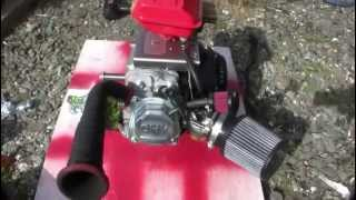 Harbor Freight 212cc Stage 1 Mod - YouTube