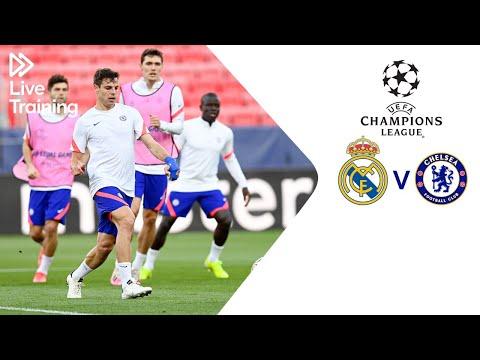 Chelsea Live Training | Real Madrid v Chelsea | UEFA Champions League